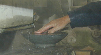 Bowl using two stones